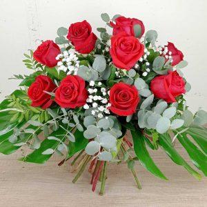 ram-roses-vermelles-passió-sant-valenti-floristeria-les-flors-igualada