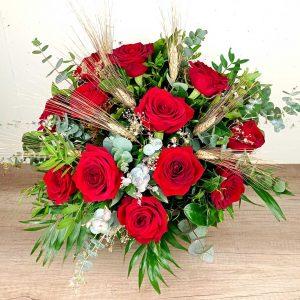 ram-dotze-roses-vermelles-floristeria-les-flors-igualada