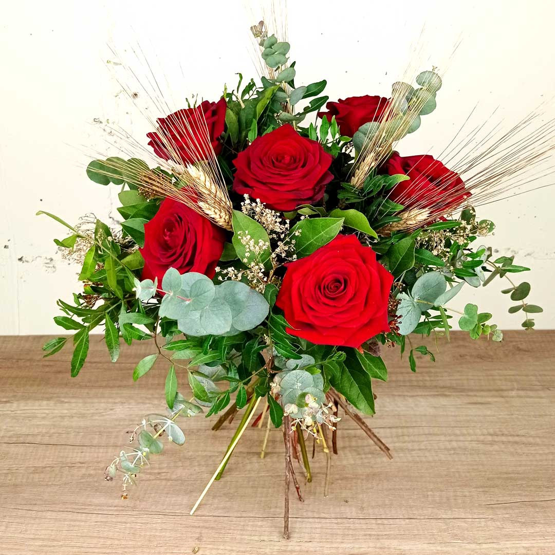 ram-sis-roses-vermelles-floristeria-les-flors-igualada
